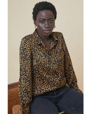 Womens Animal Shirt - black, Black