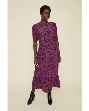 Womens Maxi Floral Printed Dress - multi, Multi