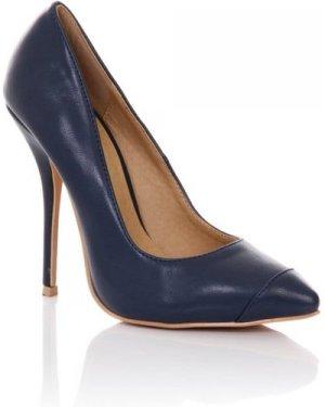Paper Dolls Footwear Navy Court Shoe size: Footwear 6 UK, colour: Navy