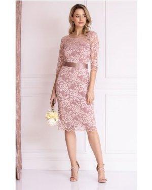 Alie Street London Lila Lace Dress size: 6-8 UK, colour: Pink