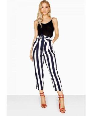 Stripe Trousers size: XL, colour: Navy / White
