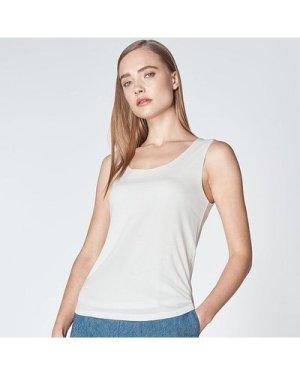 Ginny Cream Vest Top, Ivory