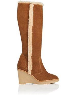 Margie Tobacco Suede Knee Boots, Tobacco