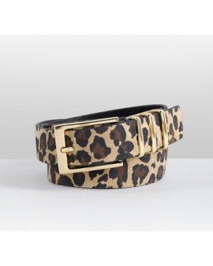 hush leopard-black Leonie Belt Leopard Black