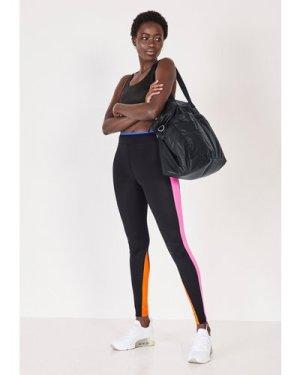 hush black Demeter Colourblock Leggings Black