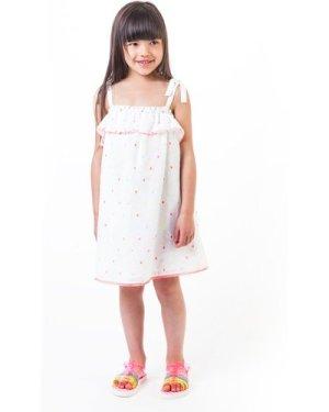 Colourful square pattern dress BILLIEBLUSH KID GIRL