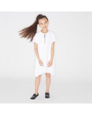 Crepe dress KARL LAGERFELD KIDS KID GIRL
