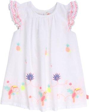 Cotton poplin dress BILLIEBLUSH INFANT GIRL