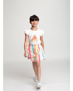 T-shirt with frilled sleeves BILLIEBLUSH KID GIRL