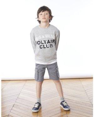 Cotton Bermuda shorts ZADIG & VOLTAIRE KID BOY