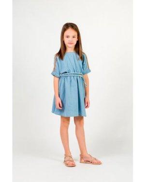 Denim dress CARREMENT BEAU KID GIRL