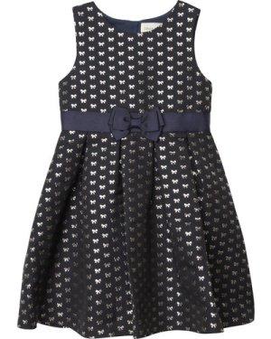 Sleeveless jacquard dress CHARABIA KID GIRL