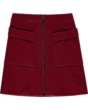 Clorinde Patent Skirt
