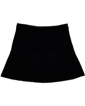 Cerise Velvet Skirt