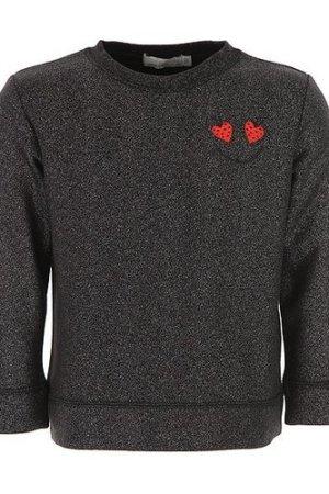 Valeria Organic Cotton and Lurex Sweatshirt