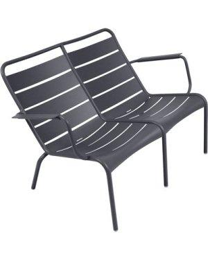 Luxembourg Low Aluminium Duo Armchair
