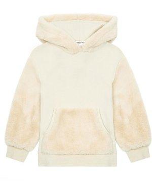 Fake fur hoodie