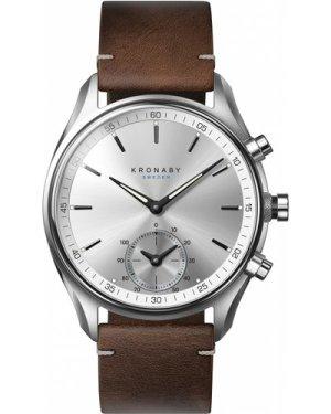 Unisex Kronaby SEKEL Alarm Watch A1000-0714