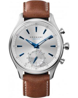 Mens Kronaby Sekel 41 Bluetooth Hybrid Watch A1000-3122