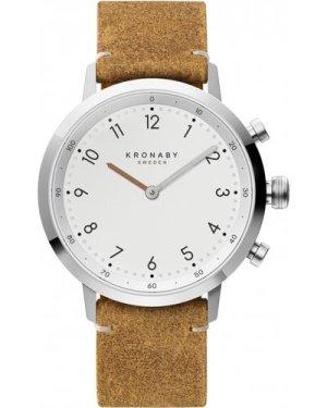 Unisex Kronaby Nord 41 Bluetooth Hybrid Watch A1000-3128