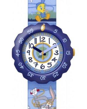 Childrens Flik Flak Looney Tunes Fit and Fun Watch FLSP008