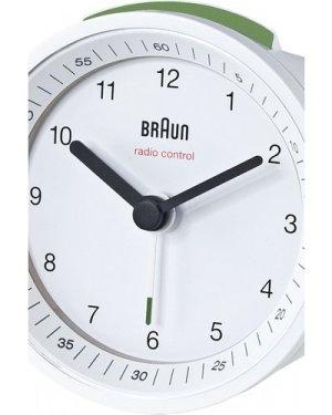 Braun Clocks Radio Controlled Alarm Radio Controlled BNC007WHWH-MSF