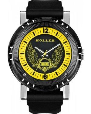 Mens Holler Black Magic Yellow Watch HLW2197-3
