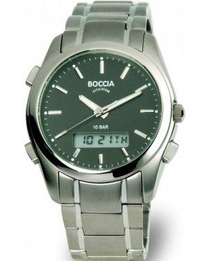 Mens Boccia Titanium Alarm Watch B3769-02
