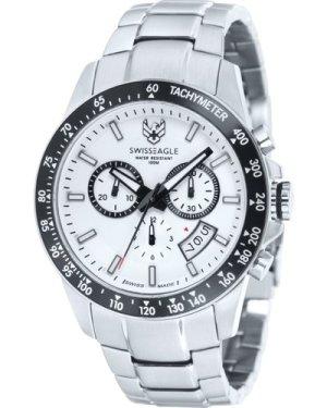 Mens Swiss Eagle Battalion Chronograph Watch SE-9031-22