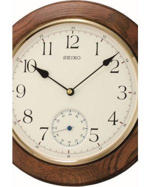Seiko Clocks Wooden Wall QXA432B