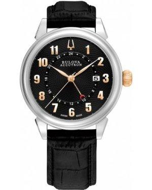 Mens Bulova Accutron Gemini Watch 65B145