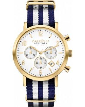 Mens Caravelle New York Jasper Chronograph Watch 44B107