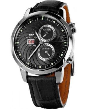 Mens Glycine Airman 7 Automatic Watch 3919.19-LBK9