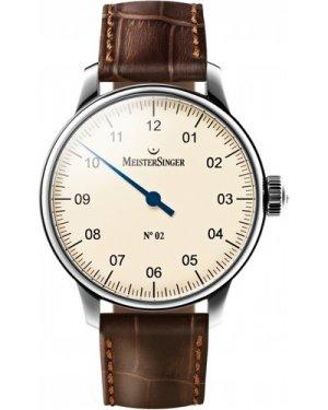 Mens Meistersinger No 02 Mechanical Watch AM6603
