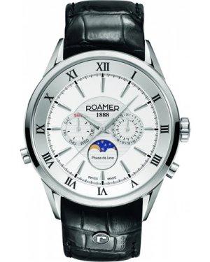 Mens Roamer Superior Moonphase Watch 508821411305