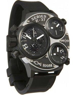 Mens Welder K37 53mm Chronograph Watch K37-6502