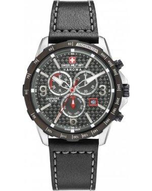 Mens Swiss Military Hanowa Chronograph Watch 6-4251.33.001