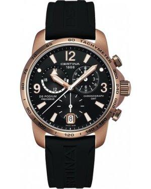 Mens Certina DS Podium GMT Precidrive Chronograph Watch C0016399705704