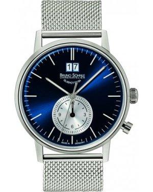 Mens Bruno Sohnle Stuttgart GMT Watch 17-13180-340