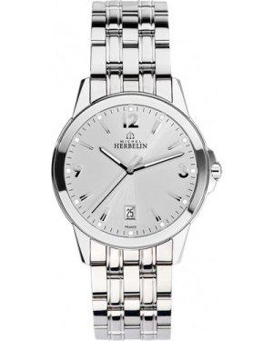 Mens Michel Herbelin Watch 12250/B12