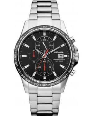 Mens Rodania Dakar Gents Bracelet Chronograph Watch RF2615046