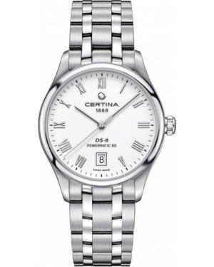 Ladies Certina DS-8 Powermatic 80 Automatic Watch C0334071101300