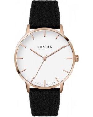 Unisex Kartel Scotland Lewis 40mm Cashmere Watch KT-LEW-RGBC-BR