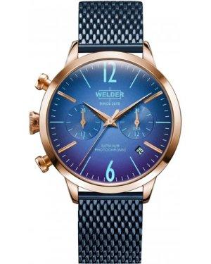 Unisex Welder The Moody 38mm Dual Time Watch K55/WWRC631