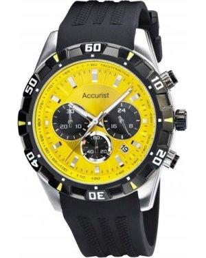 Mens Accurist Chronograph Watch MS970YB