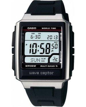 Mens Casio Wave Ceptor Alarm Chronograph Radio Controlled Watch WV-59U-1AVEF