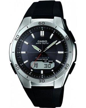 Mens Casio Waveceptor Alarm Chronograph Radio Controlled Watch WVA-M640-1AER