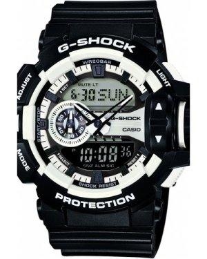 Mens Casio G-Shock Alarm Chronograph Watch GA-400-1AER