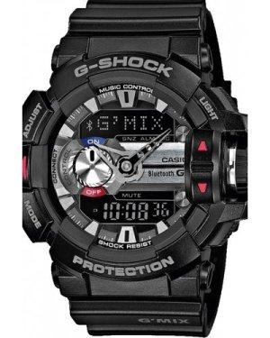 Mens Casio G-Shock G'MIX Bluetooth Hybrid Smartwatch Alarm Chronograph Watch GBA-400-1AER