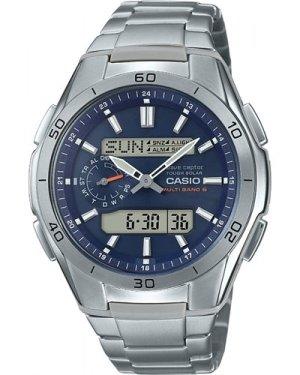 Mens Casio Alarm Chronograph Radio Controlled Watch WVA-M650TD-2A2ER